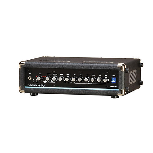 Acoustic B800H 800W Bass Amp Head Black