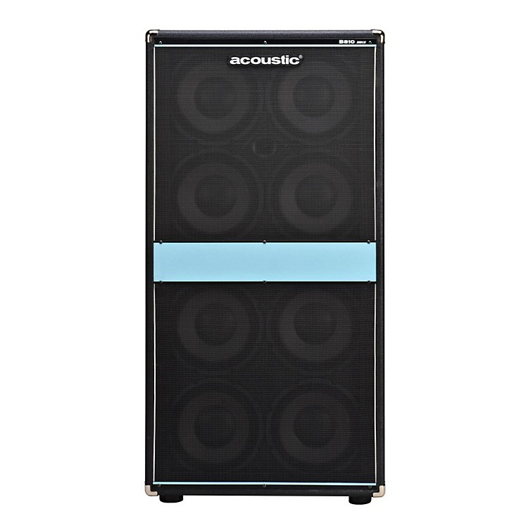 Acoustic B810mkII 8x10 Bass Speaker Cab Black