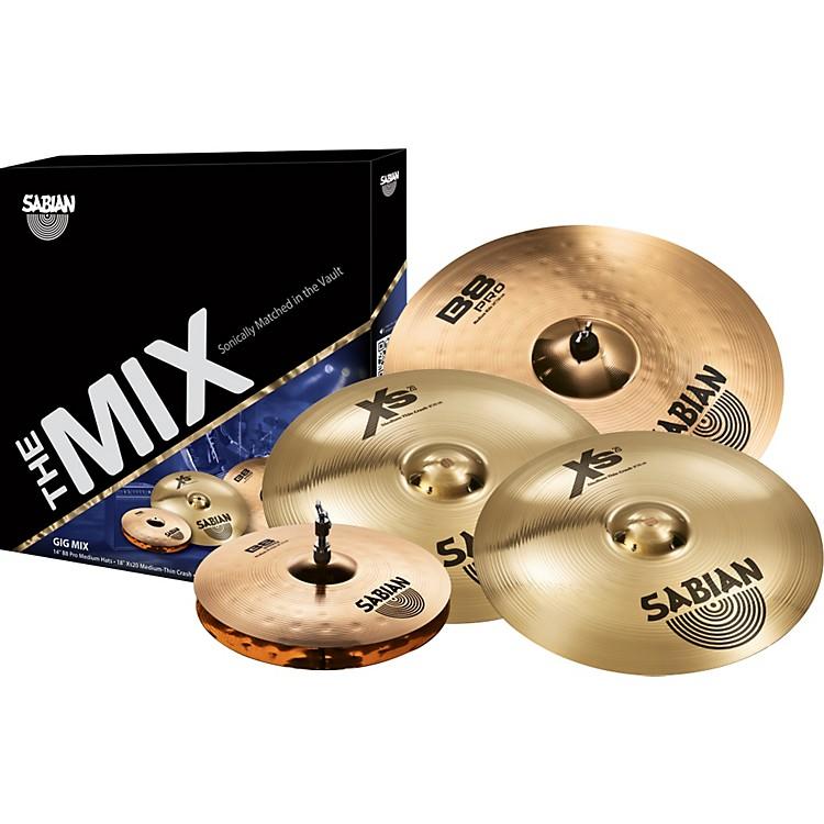 SabianB8PRO/XS20 Mix Cymbal Pack
