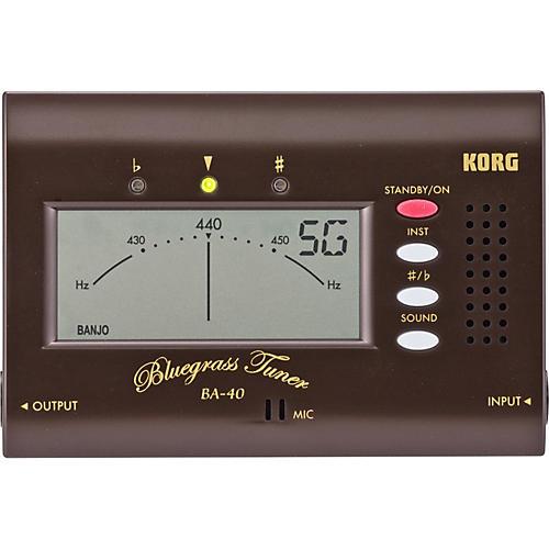 Korg BA40 Bluegrass Tuner