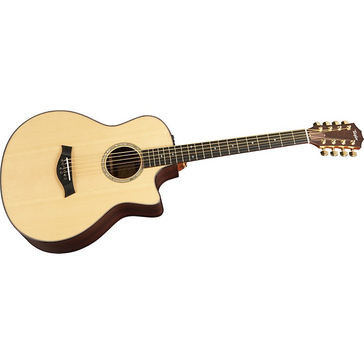 TaylorBAR-8-L Baritone Mahogany/Spruce 8-String Left-Handed Acoustic-Electric Guitar