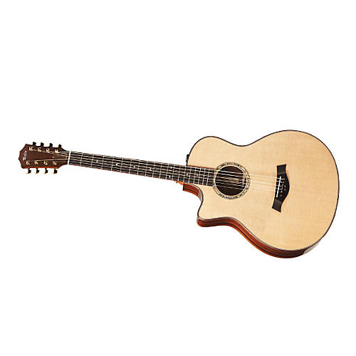 Taylor BAR-8-L Baritone Rosewood/Spruce 8-String Left-Handed Acoustic-Electric Guitar