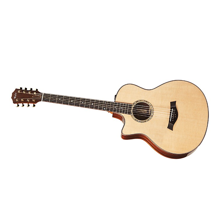 TaylorBAR-8-L Baritone Rosewood/Spruce 8-String Left-Handed Acoustic-Electric Guitar