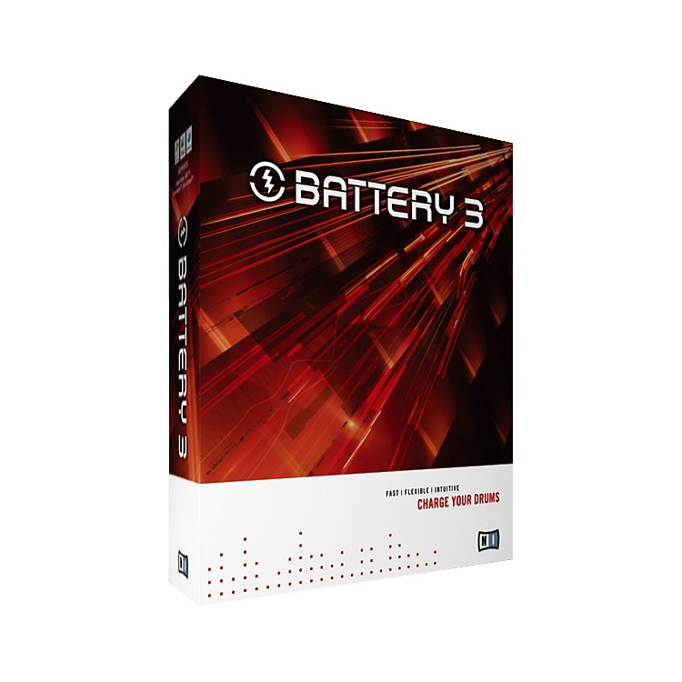 Native Instruments BATTERY 3 Drum Sampling Software