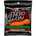 GHS BB10U 80/20 Bronze Ultra Light Acoustic Guitar Strings  Thumbnail