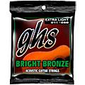 GHS BB20X 80/20 Bronze Extra Light Acoustic Guitar Strings  Thumbnail