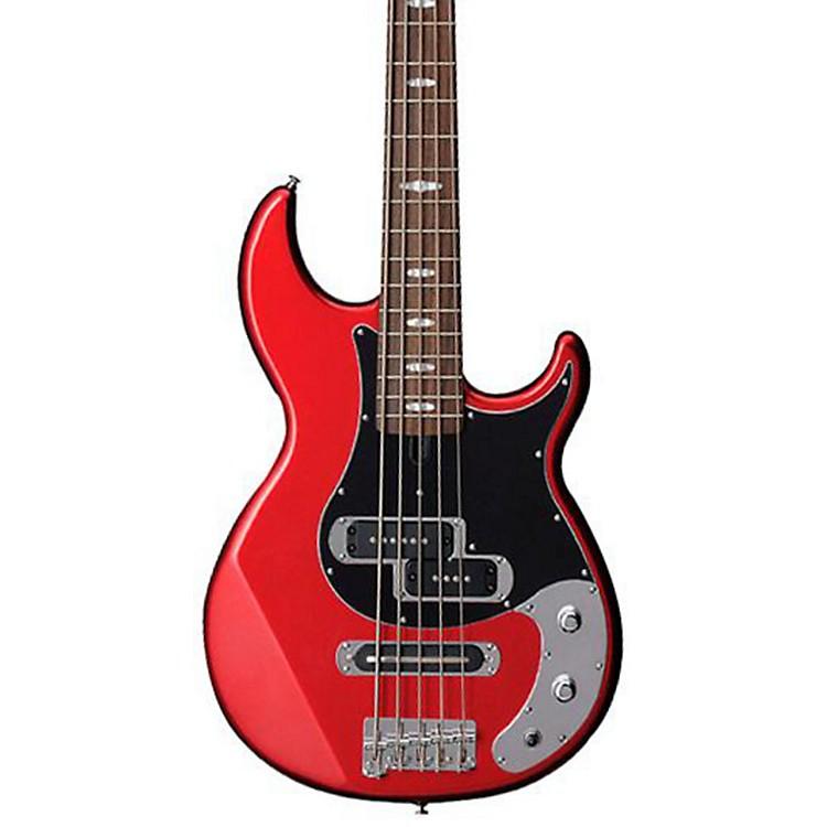 YamahaBB425X 5-String Electric Bass GuitarRed Metallic