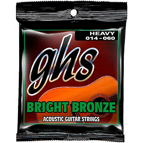GHS BB50H 80/20 Heavy Bronze Acoustic Guitar Strings
