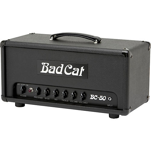 Bad Cat BC-50 50W Tube Guitar Amp Head-thumbnail