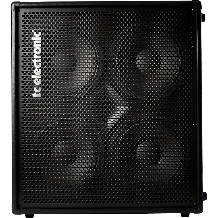 TC Electronic BC410 4x10 Bass Speaker Cabinet Black 4 Ohm