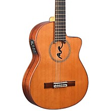 Manuel Rodriguez BCUT-U Boca Nylon-String Classical Acoustic-Electric Guitar Natural