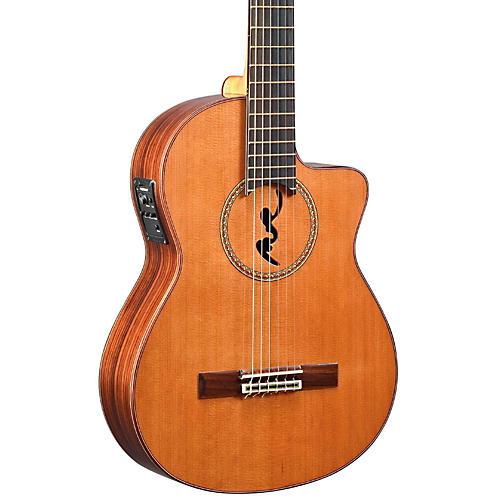 Manuel Rodriguez BCUT-U Boca Nylon-String Classical Acoustic-Electric Guitar-thumbnail