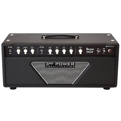 3rd Power Amps BD-AMP British Dream 38/18 Watt 2 Channel Tube Guitar Head
