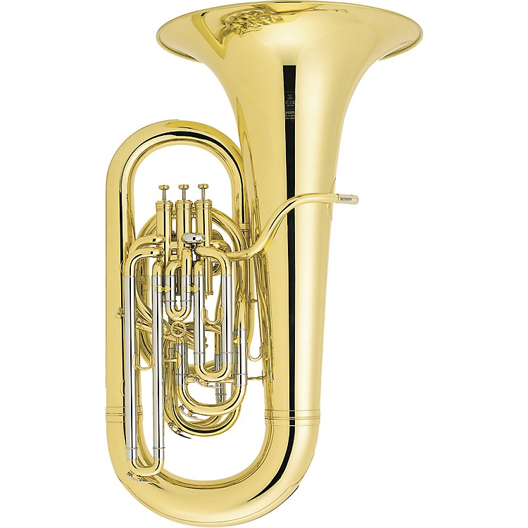Besson BE981 Sovereign Series Compensating EEb Tuba Silver
