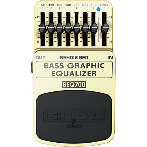 Behringer BEQ700 Bass Graphic Equalizer Pedal