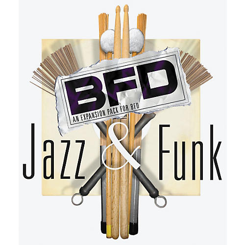 Fxpansion BFD Deluxe Jazz and Funk Percussion Collection-thumbnail
