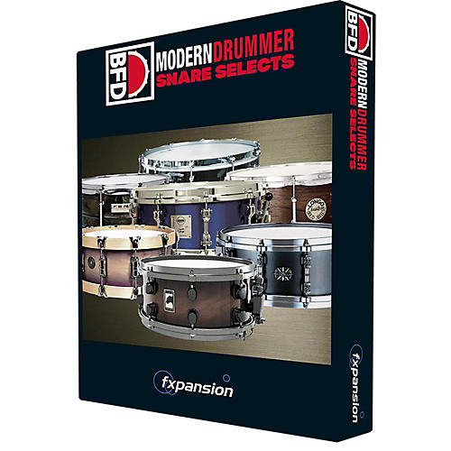 Fxpansion BFD Modern Drummer Snares-thumbnail