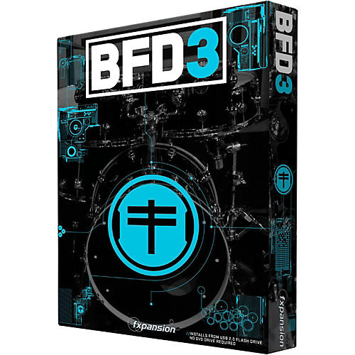 Fxpansion BFD3 Acoustic Drum Studio Virtual Instrument