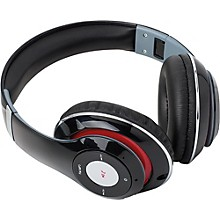 SoundLogic BFHM-12/6708 Foldable HD Bluetooth Headphones Black