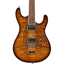 Ernie Ball Music Man BFR Steve Morse HH Flame Maple Electric Guitar with Roasted Neck