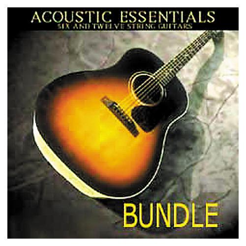 Tascam BG: Acoustic Essentials Bundle Giga CD