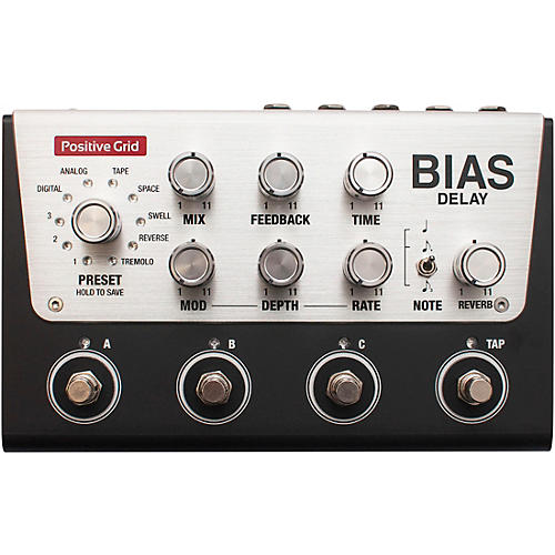 Positive Grid BIAS Delay Pro Effects Pedal-thumbnail