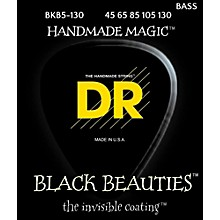 DR Strings BLACK BEAUTIES  Black Coated 5-String Bass Strings Medium (45-130)