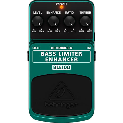 Behringer BLE100 Bass Limiter Enhancer Effects Pedal