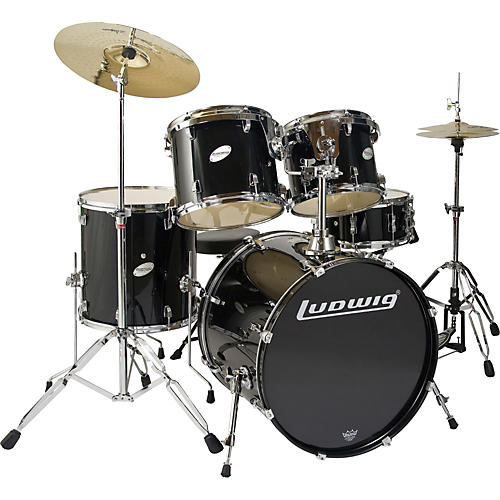 Ludwig BLEM Accent CS 5 Piece Power Drum Set LC225