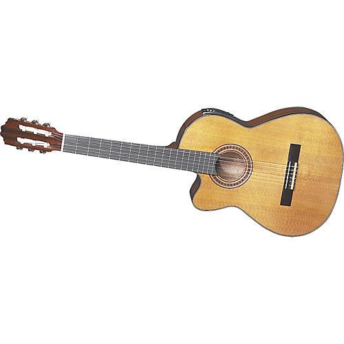 Dean BLEM Classical Solid Top Cut-a-way Left handed Classical Guitar-thumbnail