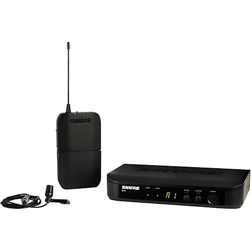 Shure BLX14 Lavalier System with CVL Lavalier Microphone-thumbnail