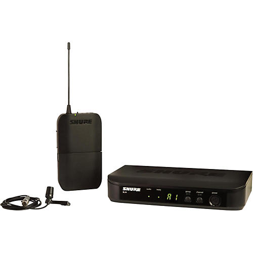 Shure BLX14 Lavalier System with CVL Lavalier Microphone Band H10
