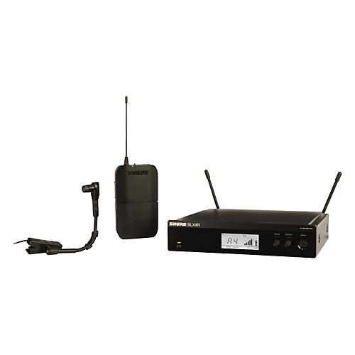 Shure BLX14R/B98 Wireless Horn System with Rackmountable Receiver and WB98H/C Band H8
