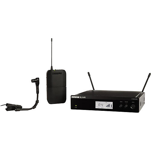 Shure BLX14R/B98 Wireless Horn System with Rackmountable Receiver and WB98H/C-thumbnail