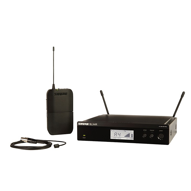 ShureBLX14R/B98 Wireless Horn System with Rackmountable Receiver and WB98H/Cfrequency K12