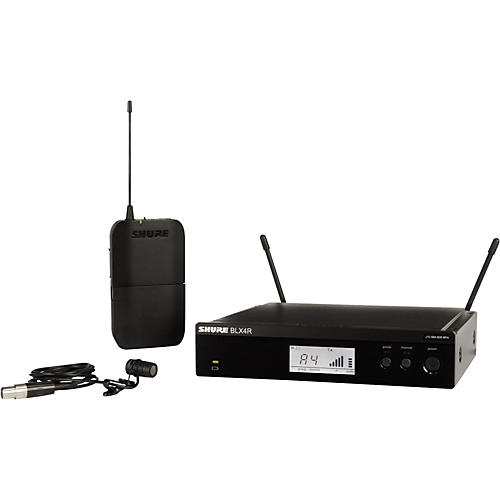 Shure BLX14R/W85 Wireless Lavalier System with WL185 Cardioid Lavalier Mic-thumbnail