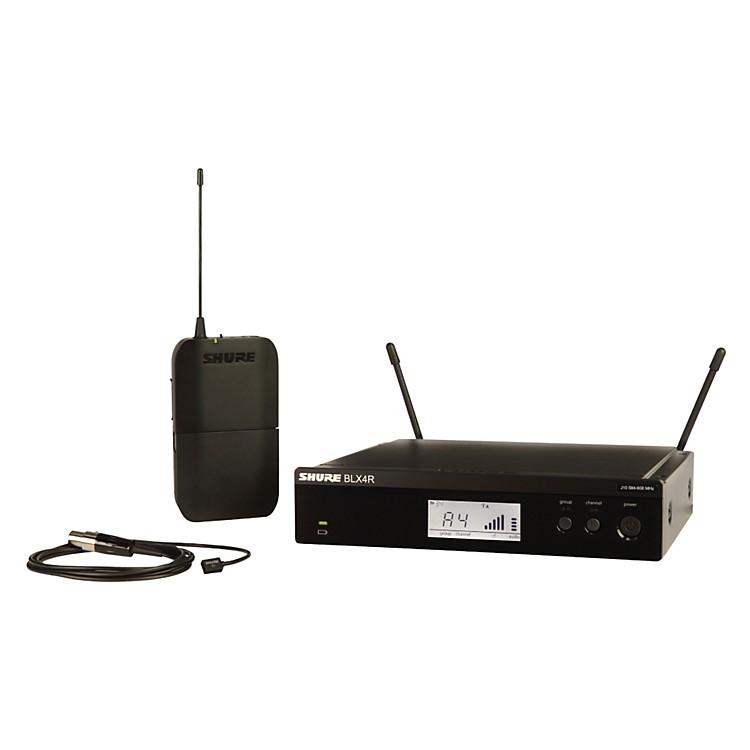 ShureBLX14R/W93 Wireless Lavalier System with WL93 Omnidirectional Condenser Miniature Lavalier Mic
