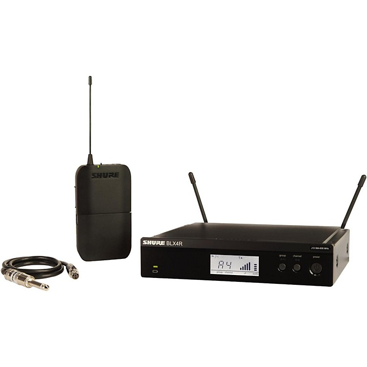 ShureBLX14R Wireless Guitar System with Rackmountable Receiverfrequency K12