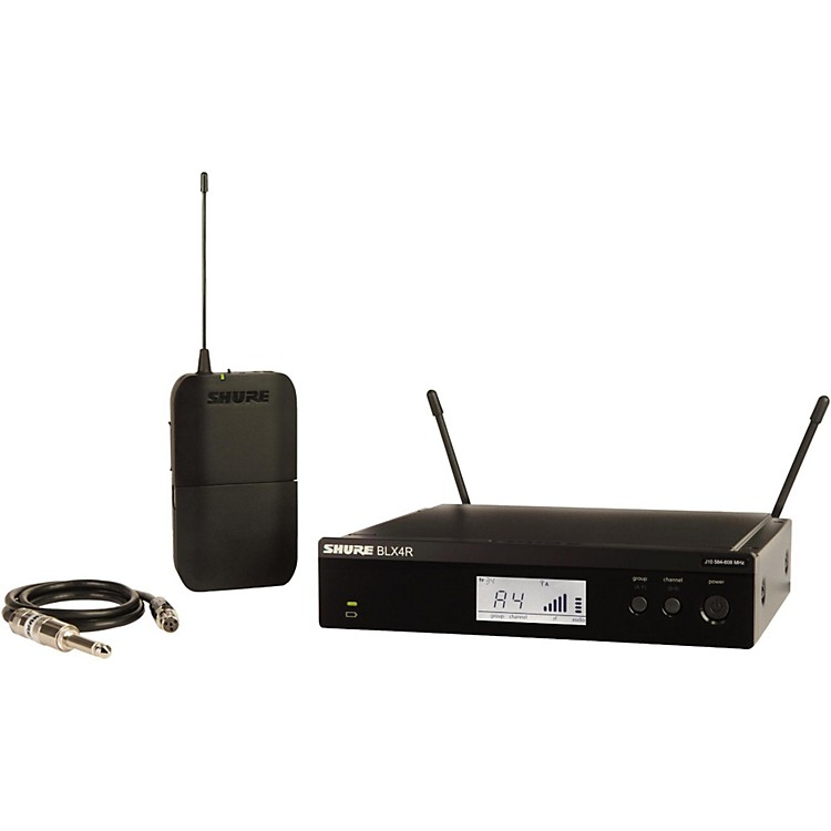ShureBLX14R Wireless Guitar System with Rackmountable Receiverfrequency M15