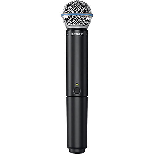 Shure BLX2/B58 Handheld Wireless Transmitter with Beta 58A Capsule Band H9