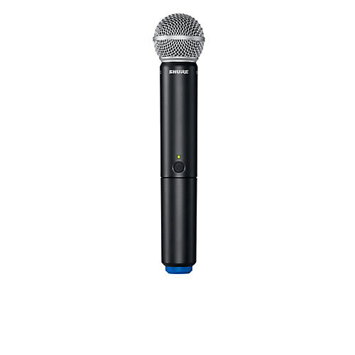 Shure BLX2/B58 Handheld Wireless Transmitter with Beta 58A Capsule Band K12