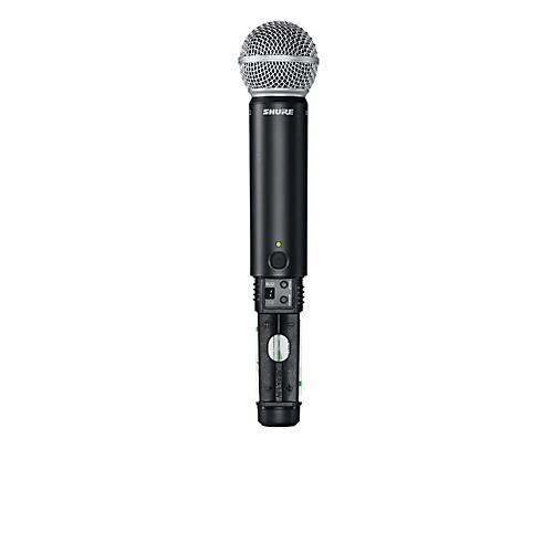 Shure BLX2/B58 Handheld Wireless Transmitter with Beta 58A Capsule Band M15