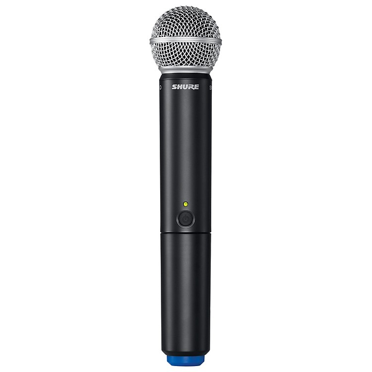 Shure BLX2/SM58 Handheld Wireless Transmitter with SM58 Capsule frequency J10