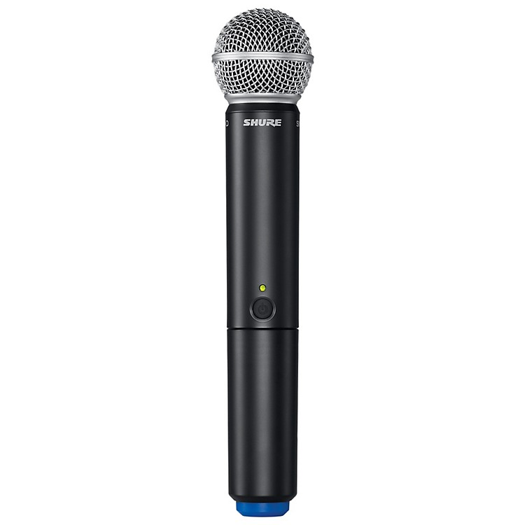 Shure BLX2/SM58 Handheld Wireless Transmitter with SM58 Capsule frequency K12