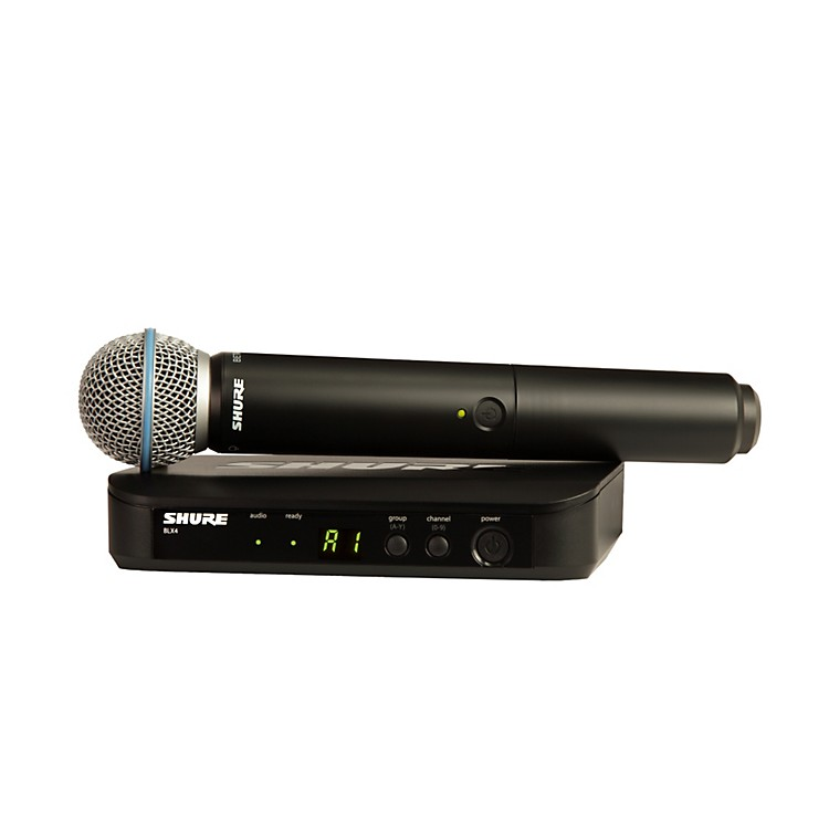 Shure BLX24/B58 Handheld Wireless System with Beta 58A Capsule frequency K12