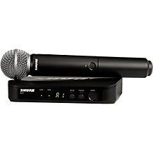 Shure BLX24/SM58 Handheld Wireless System with SM58 Capsule Level 1 Band H9