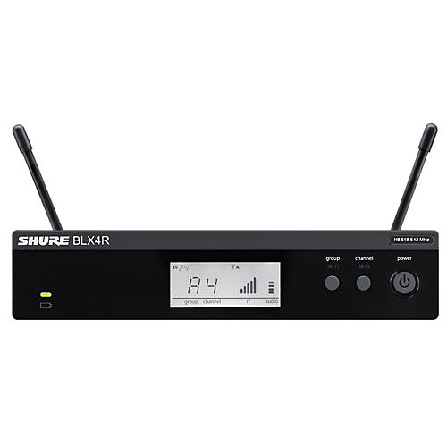 Shure BLX4R BLX Rackmountable Wireless Receiver Band M15
