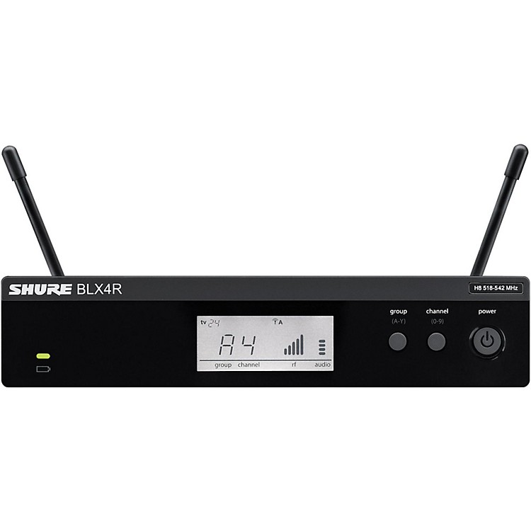 Shure BLX4R BLX Rackmountable Wireless Receiver frequency K12