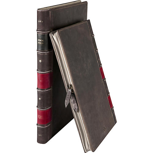 Twelve South BOOKBOOK HARDBACK LEATHER CASE BROWN FOR 15IN MACBOOK PRO-thumbnail