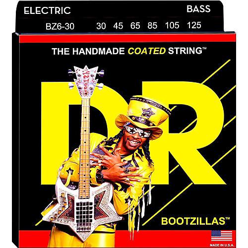 DR Strings BOOTZILLA SIGNATURE 6 STRING BASS MEDIUM .125 LOW B (30-125)